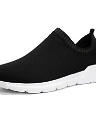 cheap -Men's Loafers & Slip-Ons Outdoor Walking Shoes Mesh Breathable Black Spring Summer