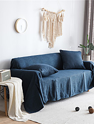cheap -Sofa Cover Solid Colored Printed Linen Slipcovers