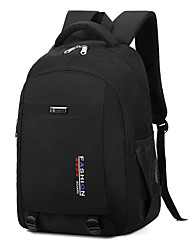 cheap -Unisex Oxford Rucksack Commuter Backpack Large Capacity Zipper Daily Traveling Backpack Blue Orange Green Gray