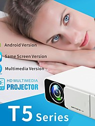 cheap -New T5 LED Projector 2500 lumens Keystone USB HDMI VGA AV Beamer Home Theater Proyector