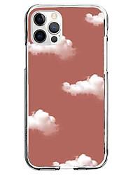 cheap -Cloud Phone Case For Apple iPhone 13 12 Pro Max 11 X XR XS Max iphone 7/8 iphone 7Plus / 8Plus Unique Design Protective Case Pattern Back Cover TPU
