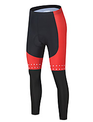 cheap -Men's Cycling Pants Bike Tights Sports Black / Red / Black / Blue Clothing Apparel Form Fit Bike Wear / Micro-elastic / Athleisure
