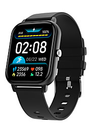 cheap -C30 Unisex Smartwatch Fitness Running Watch Bluetooth Heart Rate Monitor Blood Pressure Measurement Calories Burned Long Standby Media Control ECG+PPG Stopwatch Pedometer Call Reminder Activity