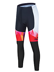 cheap -Men's Cycling Pants Bike Tights Sports Black / Silver / Black / Red / Black / Blue Clothing Apparel Form Fit Bike Wear / Athleisure