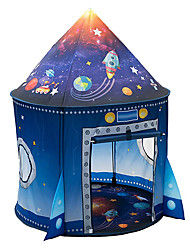 cheap -Rocket Ship Play Tent for Kids, Astronaut Spaceship Space Themed Pretend Playhouse Indoor Outdoor Games Party Children Pop Up Foldable Tent Birthday Toy for Boys Girls Toddler Baby