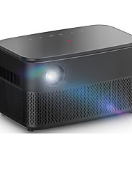cheap -RD616 3D DLP Portable Projector WIFI Android 6.0 System Bluetooth 400 ANSI Lumens Smart Home Theater for Outdoor Movie Indoor Entertainment