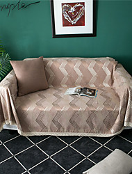 cheap -Sofa Cover Geometric Printed Polyester / Cotton Slipcovers