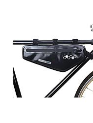 cheap -1.5 L Bike Frame Bag Top Tube Reflective Waterproof Portable Bike Bag EVA Bicycle Bag Cycle Bag Outdoor Exercise