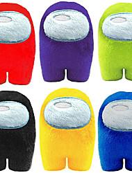 cheap -Plush Toy 4Inch Cute Soft Plush Bulging Eyes Astronaut Plush Figure (Red Purple Green Blue Pink Yellow)
