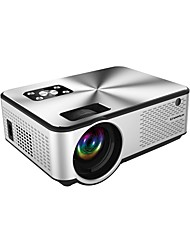 cheap -Factory Outlet C9 Mini Projector LED Projector 2800 lm Keystone Correction