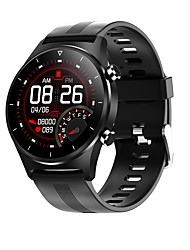 cheap -E13 Sports Smart Watch Bracelet with Blood Oxygen Pressure Monitoring Step Count Health Detection Silicon with Silicone Watch Band
