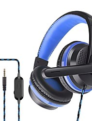 cheap -P6 Gaming Headset 3.5mm Headphone 3.5mm Microphone Stereo with Microphone for Apple Samsung Huawei Xiaomi MI  Gaming PlayStation Xbox PS4 Switch