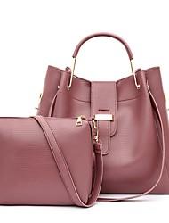 cheap -Women's Bags Top Handle Bag Shopping Office & Career Bag Sets Handbags Black Blue Blushing Pink Brown