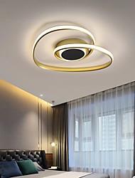 cheap -45/60 cm LED Dimmable Ceiling Light Heart Shape Geometric Light Fixture Flush Mount Lights Aluminum Artistic Style Stylish Painted Finishes Artistic LED 110-120V 220-240V