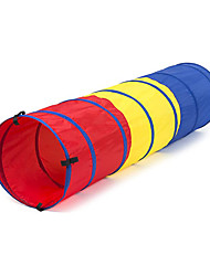 cheap -Pop Up Kid's Play Tunnel for Toddlers Indoor and Outdoor, Standalone or Tent Attachment Accessory, Lightweight and Portable for Park or Backyard Fun, Girls and Boys