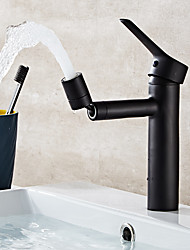 cheap -Bathroom Sink Faucet - Rotatable Electroplated Other Single Handle One HoleBath Taps