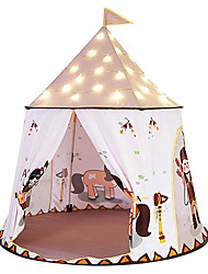 cheap -Children Tent, Castle Tent, Above 3 Years Old Indoor Tent Play House Princess Castle Home Parks for Baby Gift Backyard