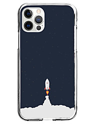 cheap -Astronaut Phone Case For Apple iPhone 13 12 Pro Max 11 X XR XS Max iPhone 12 Mini iphone 7/8 Unique Design Protective Case Pattern Back Cover TPU