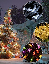 cheap -LED Dragonfly Lights String Twinkle Outdoor Waterproof Garden Villa Tree Fairy Garland Wedding Party Xmas Decoration