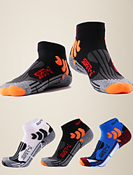 cheap -LITB Basic Men's Quick-drying Sports Socks Breathable LYCRA Footsocks Anti-slip Running Sox One-Size EU 39-44 For Male