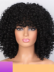 cheap -Synthetic Wig Curly Afro Curly Short Bob Wig Short A10 A11 A12 A13 A14 Synthetic Hair Women's Cosplay Party Fashion Black Brown
