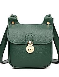 cheap -Women's Bags Crossbody Bag Daily Date 2021 MessengerBag Black Red Green