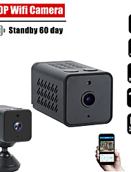 cheap -Mini Wifi Camera Home Security Camera Wifi Night Vision 1080p Wireless Surveillance Camera Phone Application Remote Monitoring
