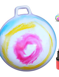 "cheap -Hop Ball for Kids and Adults | Tie Dye Hopper | Jumping Hopping Ball | Field Day Relay Races (Ages: 3-6 (18""/45CM))"