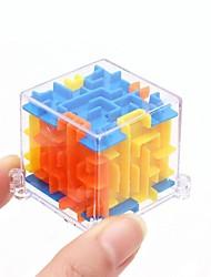 cheap -4x4x4cm 3d puzzle, fun brain - hand game case box, educational