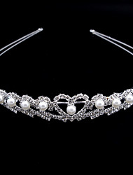 cheap -Wedding Bridal Alloy Headbands / Headdress / Headpiece with Imitation Pearl / Sparkling Glitter / Crystal / Rhinestone 1 Piece Wedding / Party / Evening Headpiece