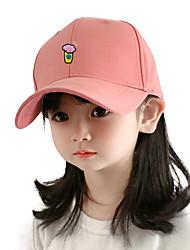 cheap -1pcs Kids Unisex Basic Birthday / Casual / Daily Wear Cartoon Stylish Cotton Hats & Caps White / Black / Yellow S