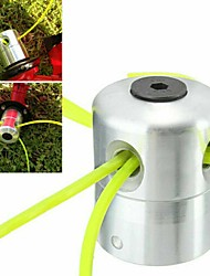 cheap -Aluminum Alloy Grass Trimmer Head Brush Cutter Head Lawn Mower Accessories