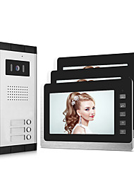 cheap -XINSILU XSL-V70L-B Wired 7 inch Hands-free 800*480 Pixel One to Three video doorphone