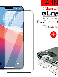 cheap -2in1 9D HD Black Protective Glass for iPhone12 Pro Camera Screen Protector For iPhone 12 Mini 12 Pro Max 11 Pro Max 11 Pro Glass on Ifone 12 Pro