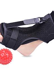 cheap -Adjustable Plantar Fasciitis Night Foot Splint Drop Orthotic Brace Elastic Dorsal Night Splint Foot Health Care Tools Toe Valgus