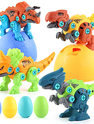 cheap -Take Apart Dinosaur Toys for Boys Building Toy Set with Electric Drill Construction Engineering Play Kit STEM Learning for Kids Girls Age 3 4 5 Year Old