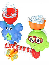 cheap -Waterfall Sprinkle Water Toys Bath Toy Bathtub Pool Toys Water Pool Bathtub Toy Octopus Crab Plastic Bathtime Bathroom for Toddlers, Bathtime Gift for Kids & Infants / Kid's