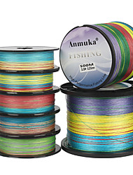 cheap -PE Braided Line / Dyneema / Superline 8 Strands Fishing Line 1000M / 1100 Yards 300M / 330 Yards 500M / 550 Yards PE 80LB 65LB 60LB Abrasion Resistant