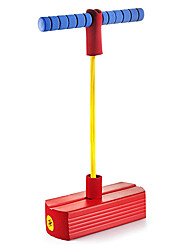 cheap -Foam Pogo Jumper for Kids - Fun and Safe Jumping Stick - Pogo Stick for Kids and Adults - Pogo Jump Makes Squeaky Sounds - Holds Up to 250 LBS - Great Gift for Boys and Girls