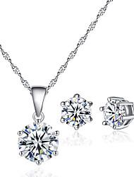 cheap -Women's Jewelry Set Elegant Earrings Jewelry White For Festival 1 set