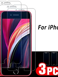 cheap -3PCS Glass For iPhone 12 pro max iPhone SE 2020 Screen Protector For iPhone 11 Pro X XR XS MAX Tempered Glass On iPhone 8/7 plus