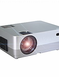 cheap -HQ2 Mini Projector LED Projector 500 lm Keystone Correction