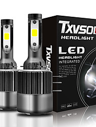 cheap -TXVSO8 Car LED Headlamps H15 Light Bulbs 26000 lm COB 110 W 2 For Volkswagen / Benz / Ford Focus / Q7 / Tiguan 2018 / 2010 / 2011 2pcs