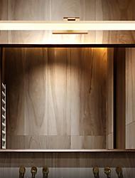 cheap -40cm Matte LED Modern Mirror Light Vanity Light Bathroom Lighting Black White Silver Bathroom Aluminum Wall Light IP20 110-120V 220-240V