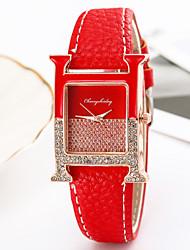 cheap -Women's Quartz Watches Analog Quartz Stylish Fashion Creative / PU Leather