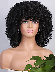 cheap -Synthetic Wig Afro Curly Short Bob Wig Short A1 A2 A3 A4 Synthetic Hair Women's Cosplay Party Fashion Black Brown