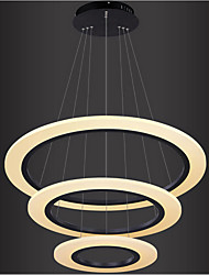 cheap -LED Pendant Light Circle Design Hanging Lamp Modern LED Pendant Lights For Living Room Home Bedroom Indoor Chandeliers Lighting Fixture Restaurant Deco
