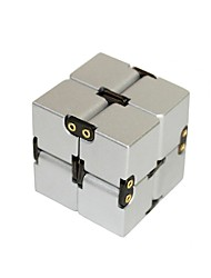 cheap -homemiyn aluminum alloy cube with cover, unlimited cube with rivets