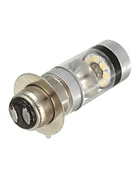 cheap -1pcs Motorcycle LED Headlamps Light Bulbs 2200 lm SMD 2525 100 W 8000 k 20 For Motorcycles