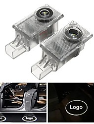 cheap -OTOLAMPARA 2pcs 10W LED Car Welcome Light Door Lamp Ghost Shadow Projector for Volvo 2004-2016